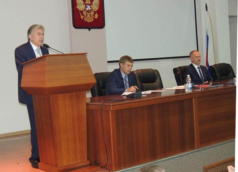 Состоялась первая осенняя сессия в городской думе
