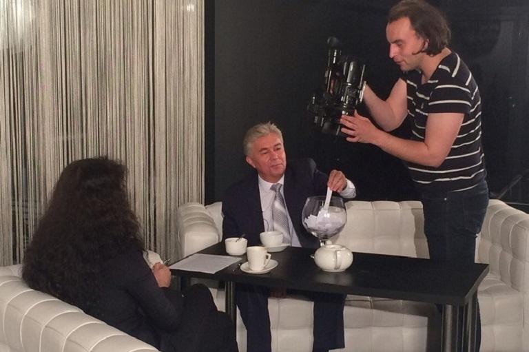 «Актуальное интервью» с главой города А. Тихоновым