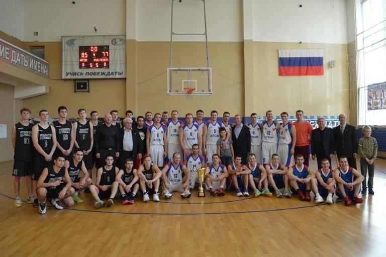 Баскетболисты боролись за «Кубок Сарова»