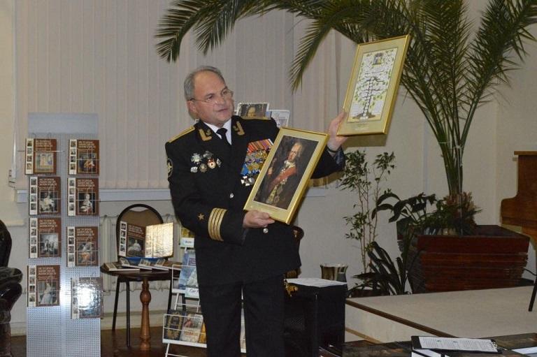 Состоялась презентация книги о великом флотоводце Ф.Ф. Ушакове