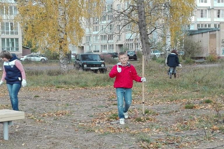 «День чистоты» на округе Сергея Смирнова