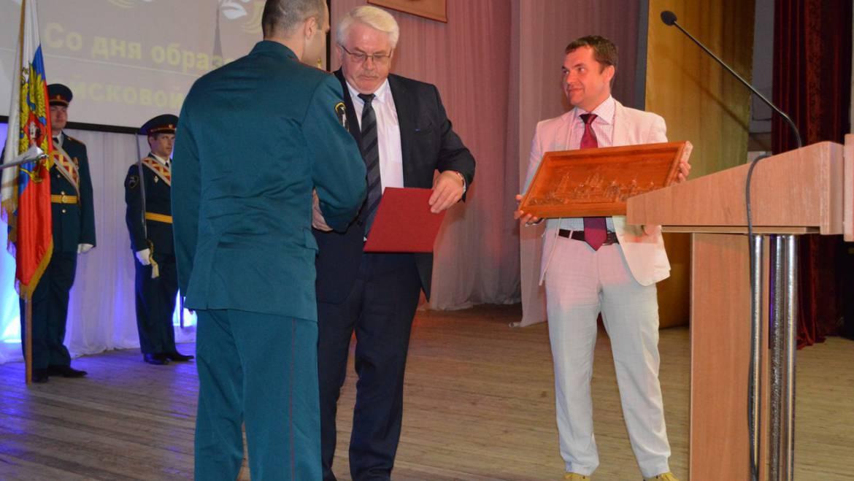 Поздравление в честь юбилея войсковой части 3452