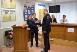 Сергей Жижин поздравил саровских полицейских с профессиональным праздником