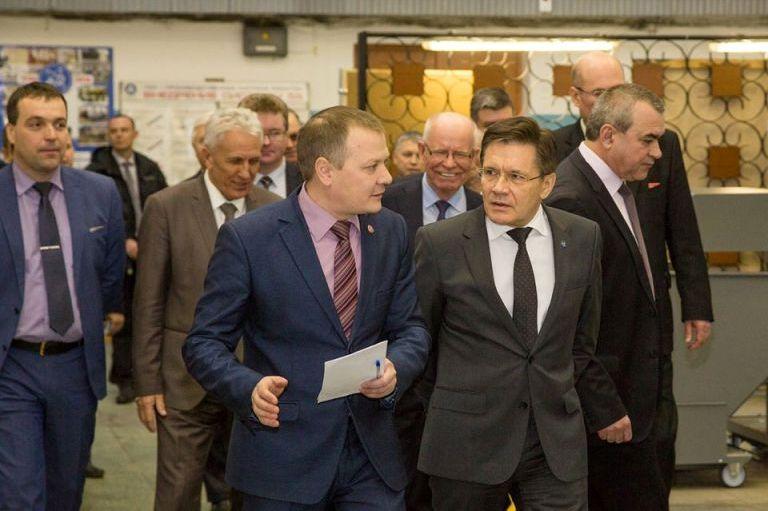Генеральный директор Госкорпорации «Росатом» Алексей Лихачев посетил РФЯЦ-ВНИИЭФ