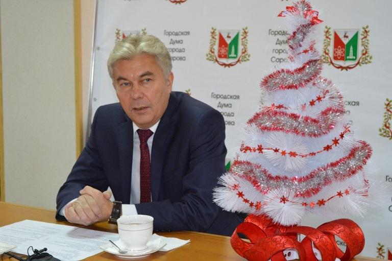 Итоговая пресс-конференция главы города