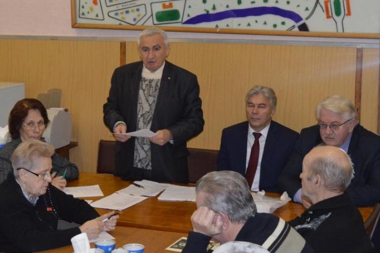 Пленум городского Совета ветеранов: отчет о работе, планы на год