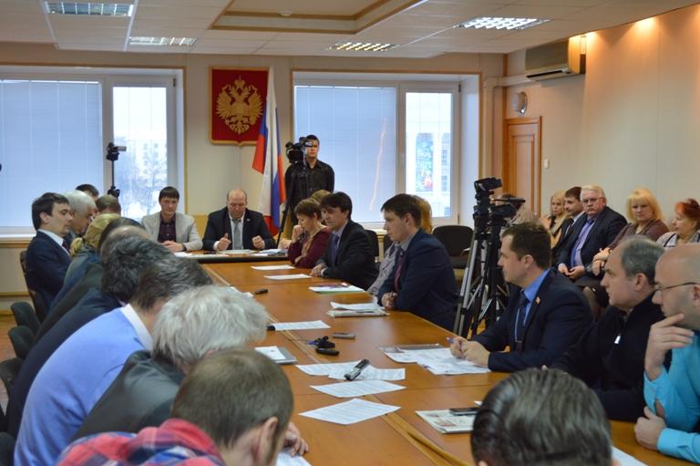 Состоялось совместное заседание комитетов