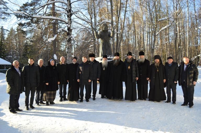 Рабочий визит  представителей министерства финансов РФ и русской православной церкви