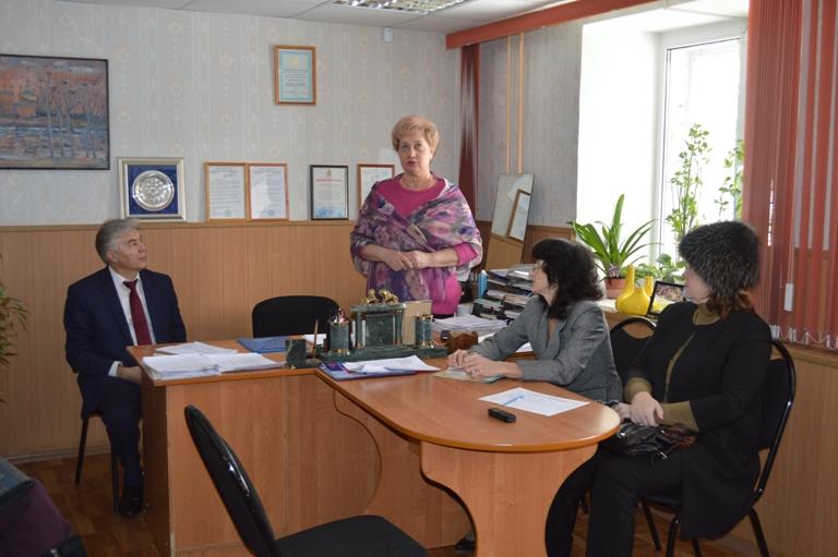 О работе думы, о развитии города. Встреча А.Тихонова с активом городского профсоюза