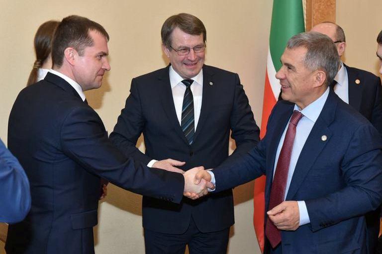 Официальный визит в столицу Татарстана