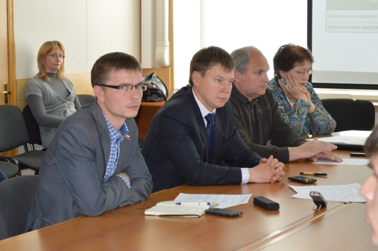 Работа комитета городской думы