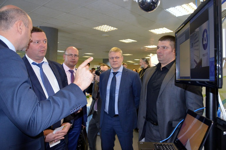 Министр промышленности торговли и предпринимательства Нижегородской области Максим Черкасов побывал в Технопарке