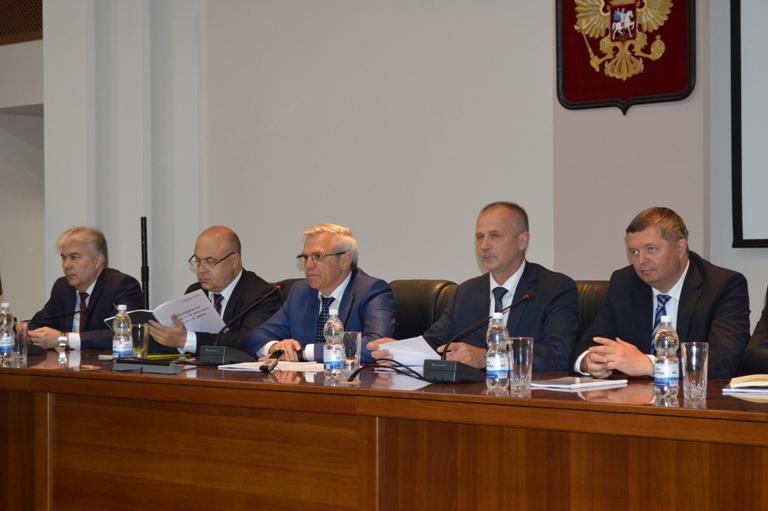 Представители правительства Нижегородской области в Сарове