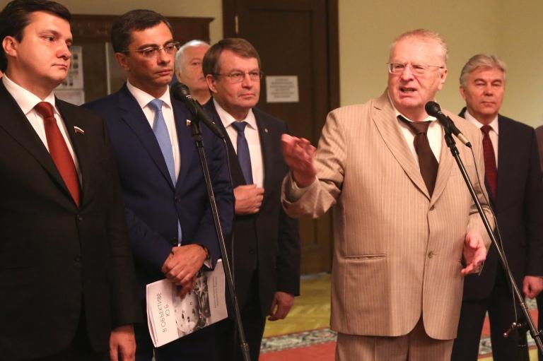 Открытие фотовыставки Юлия Харитона в Государственной думе