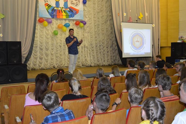 Депутаты встретились с ребятами в Детском лагере «Лесная поляна»