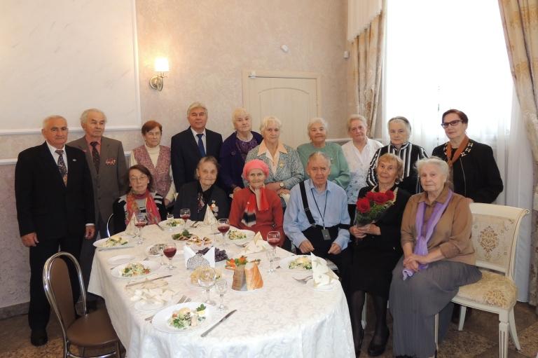 Встреча с защитниками и жителями блокадного Ленинграда