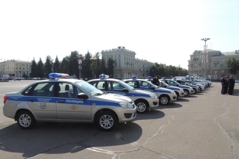 Обновлен автопарк полиции Сарова
