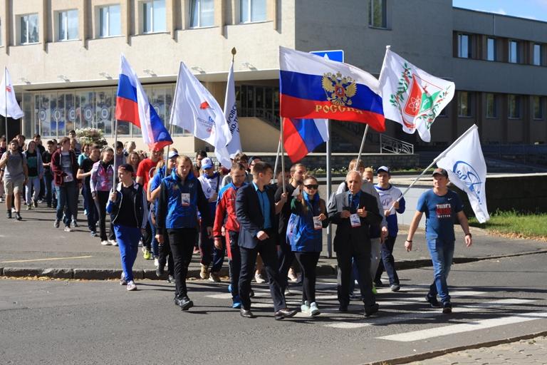 Впервые в Сарове. Парад российского студенчества