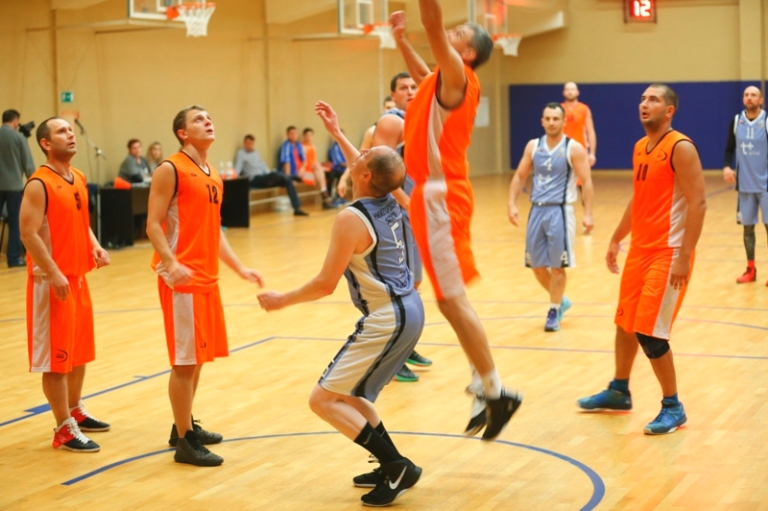 «Атомный» баскетбол