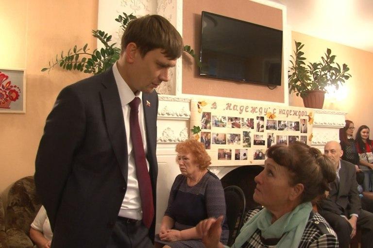 Ветераны города: с благодарностью к депутатам