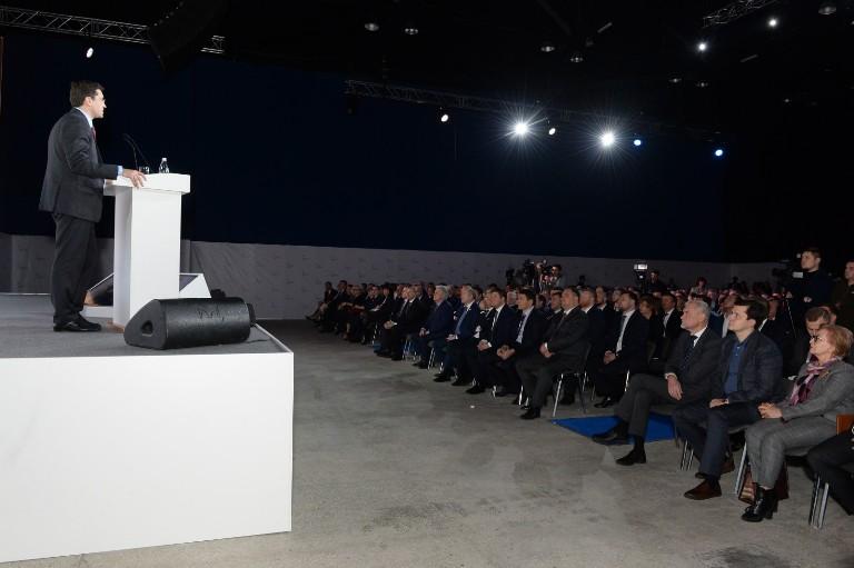 Александр Тихонов стал участником встречи с врио губернатора Нижегородской области Глебом Никитиным