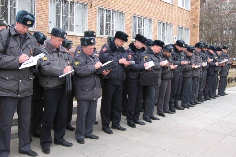 Об итогах работы городской полиции за прошлый год