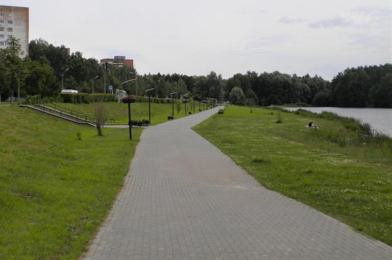 Предложение по благоустройству набережной пруда Борового