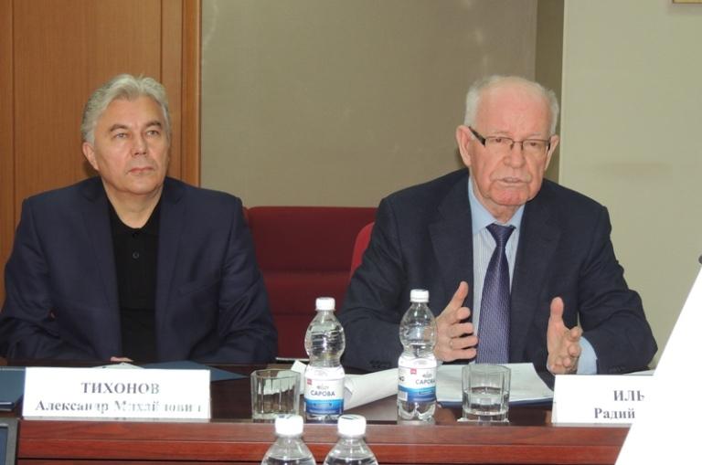 Обсуждение цифровизации на заседании Духовно-научного центра
