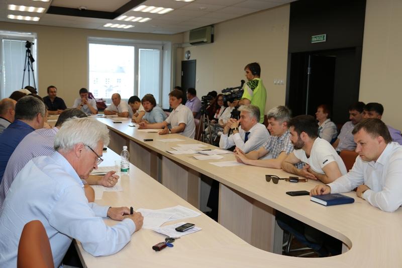 Совместное заседание комитетов городской думы