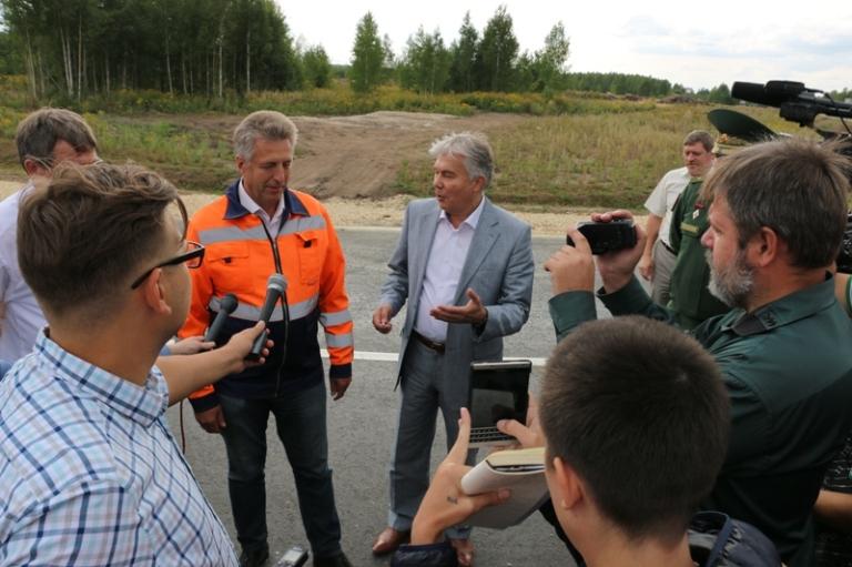 Александр Тихонов: «Все обязательства по строительству дорог выполнены»