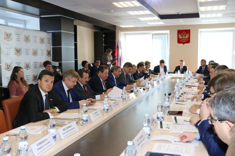 Выездное совещание комитета Совета Федерации РФ