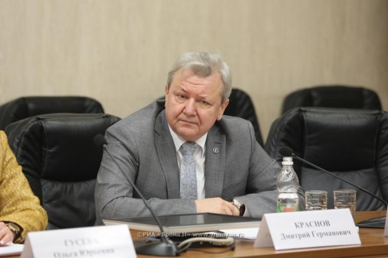 Личный прием замгубернатора Дмитрия Краснова