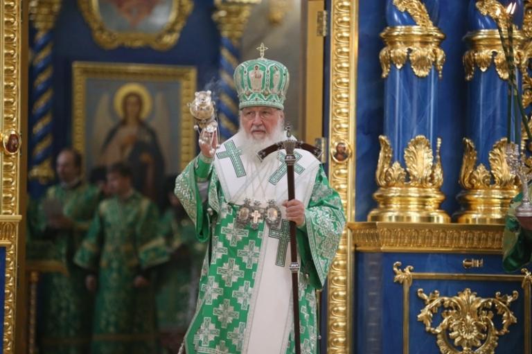 Патриарх Московский и всея Руси Кирилл посетил Саров
