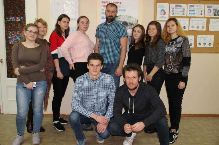 Сергей Кугукин преподал урок в школе «Лидер»