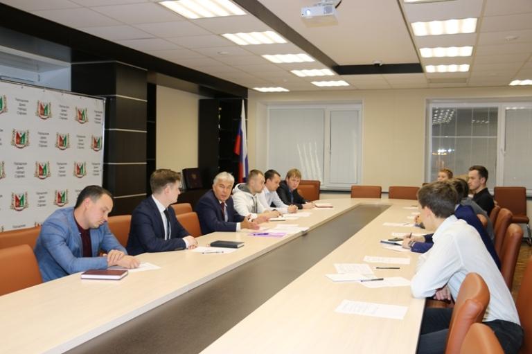 Новый состав Общественного молодежного совета при главе города