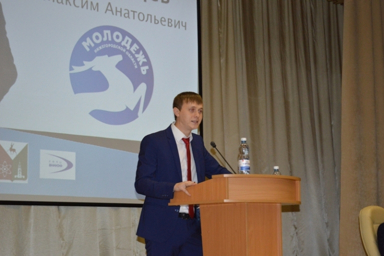 Максим Казанцев будет представлять Саров в заксобрании