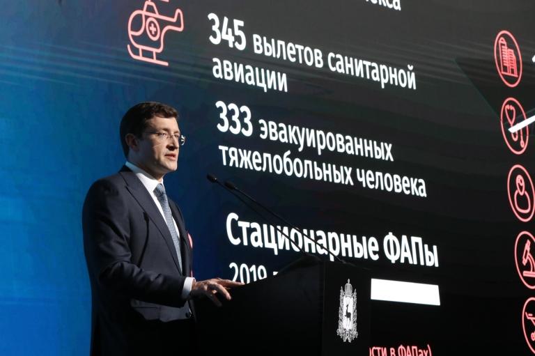 Отчет губернатора Глеба Никитина за 2019 год