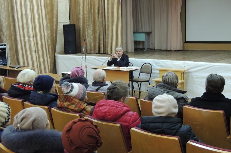 Встреча с жителями округа №33