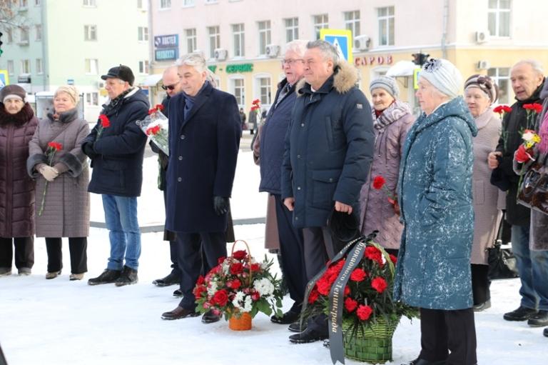 Прием ветеранов в честь освобождения Ленинграда от фашистской блокады