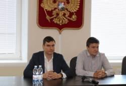 Депутаты Государственной Думы Денис Москвин и Сергей Шаргунов  в Сарове