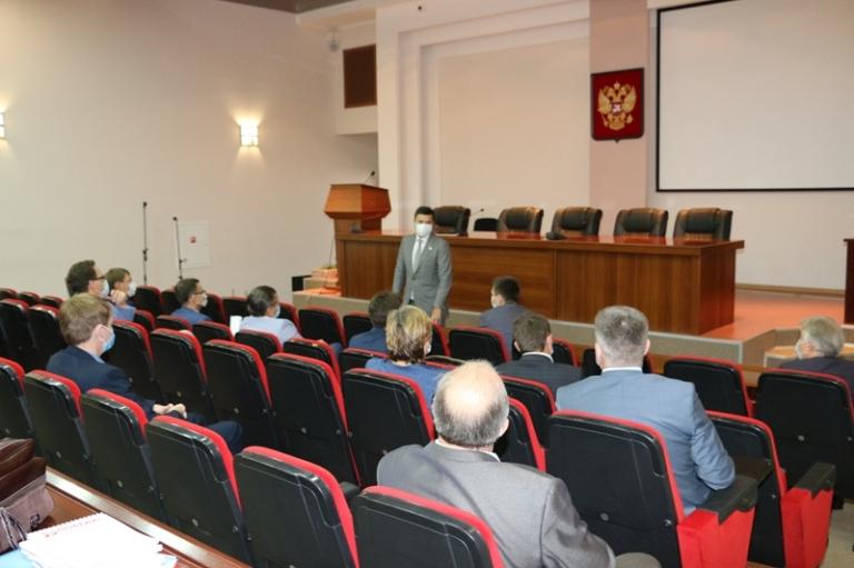 Рабочий визит Дениса Москвина