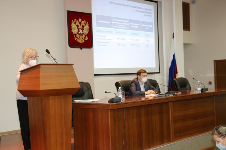 Депутаты обсудили исполнение бюджета за текущий год