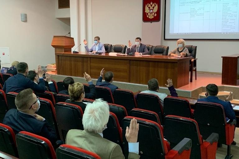 Депутаты приняли корректировку бюджета города