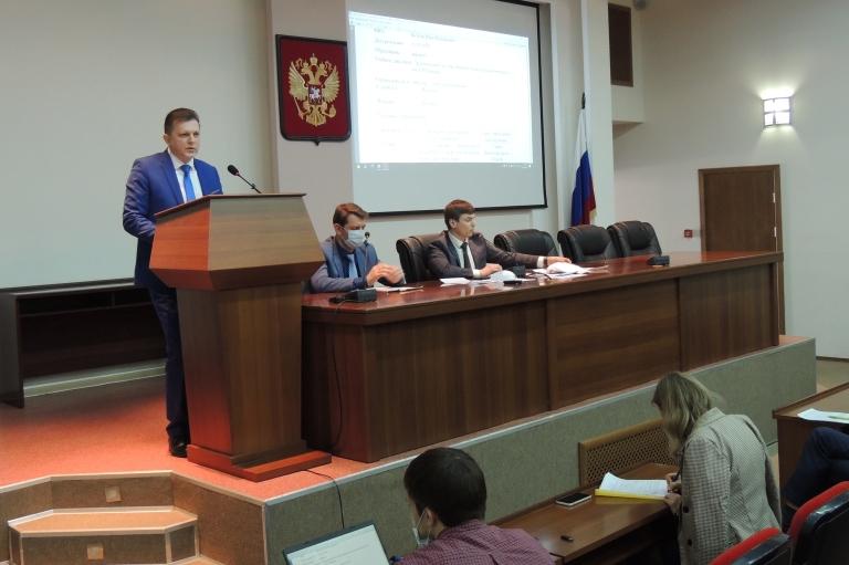 Депутаты рассмотрели кандидатуры заместителей главы администрации города