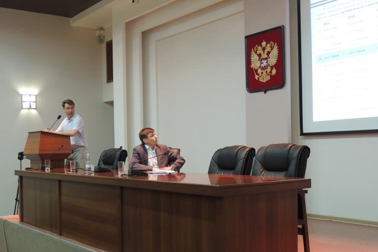 Депутаты заслушали отчет главы города. Совместное заседание комитетов