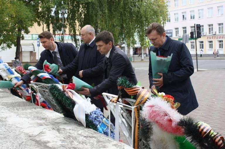 Митинг в честь начала блокады Ленинграда